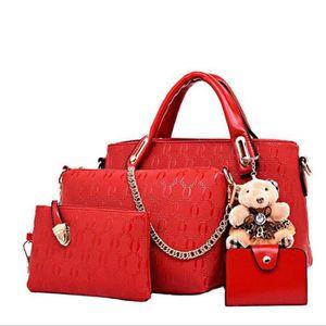 613a24512f sac à main cuir Nouvelle arrivee Sac Femme De Marque De Luxe En Cuir rouge  sac a bandouliere femme sac cabas femme de marque ylb052