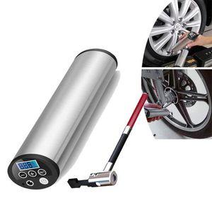 COMPRESSEUR AUTO Gonfleur de pneu, mini compresseur d'air électriqu