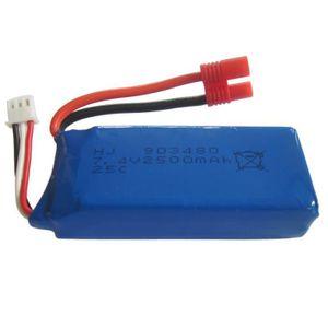 DRONE 1pcs 7.4V 2500mAh Batterie haute capacité Li-po Po