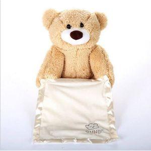 POUPÉE 30cm parlant ours en peluche en peluche poupée pel