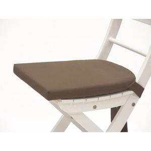 COUSSIN DE CHAISE Galette De Chaise 1 Java Taupe