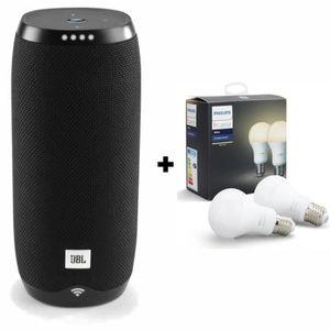 ENCEINTE NOMADE JBL LINK20BLKFR Enceinte BT + Pack de 2 ampoules W