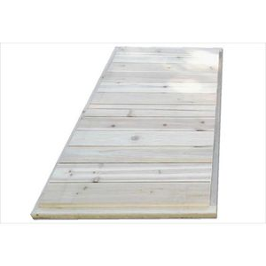 MAISONNETTE EXTÉRIEURE Plancher pour extension maison en bois Loft 150