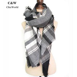 ECHARPE - FOULARD Nouvelle écharpe d hiver de style de la mode europ ... 7b8ab40d925