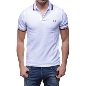 POLO Polo Fred Perry Slim Fit manches courtes M3600 bla