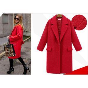 manteau rouge achat vente manteau rouge pas cher. Black Bedroom Furniture Sets. Home Design Ideas