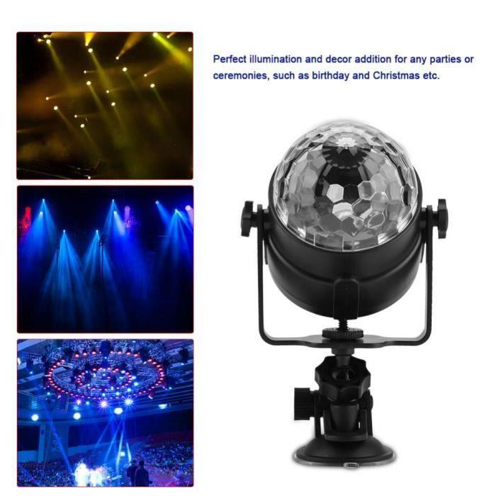 Lampe De Scene Rechargeable A Led Activee Boule Disco Eclairage De