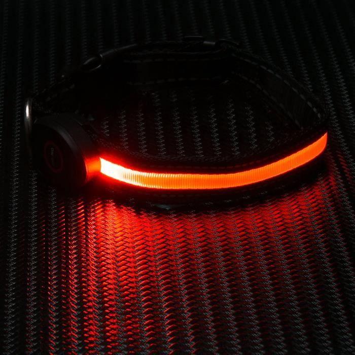 Réglable Facturable Sécurité Chien Led Collier Pour Clignotant Glow Collar1593
