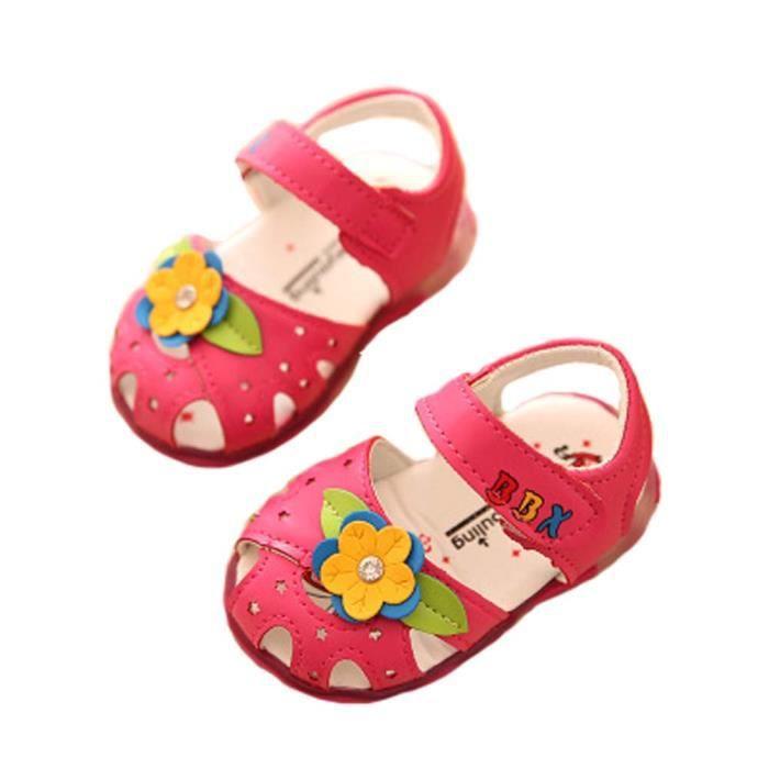 chaussures sandales bébé princesse d'été 0-1-2 année chaussures bébé vendus bamb