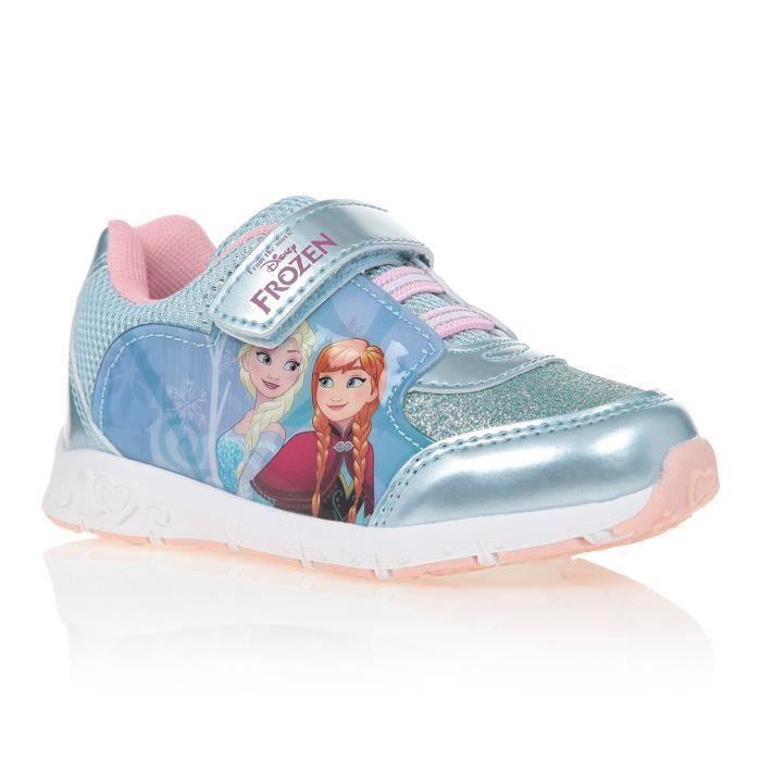 LA REINE DES NEIGES Baskets Chaussures Enfant fille - Bleu rmY3CDMqC