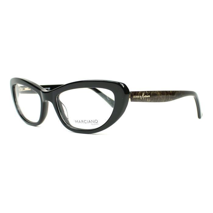 Lunettes de vue Guess by Marciano GM0221 -BLKGD Noir brillant - Or print -  Achat   Vente lunettes de vue Lunettes de vue Guess by Femme Adulte Noir -  ... 06e99078a6ca