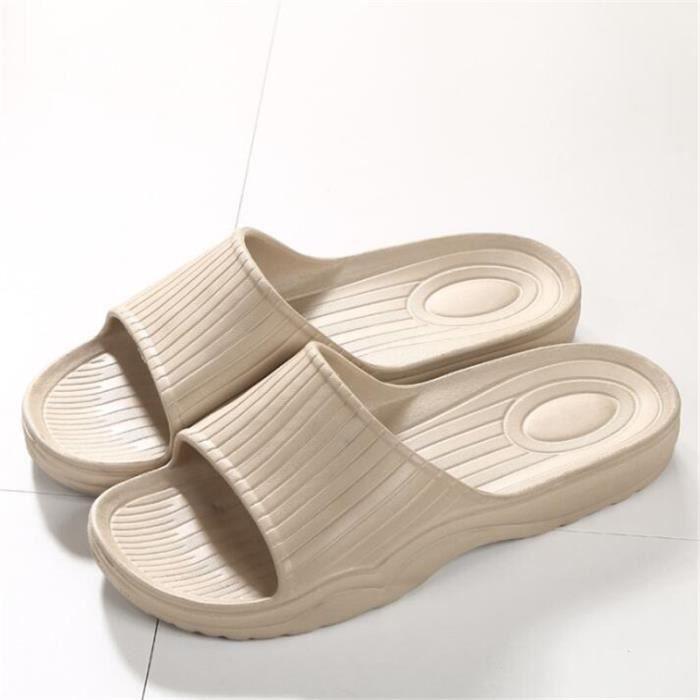 Sandales Homme Marque De Luxe Antidérapant Classique Sandale Cool Poids Léger Homme Sandale Durable Grande Taille 40-45 QobRcp4