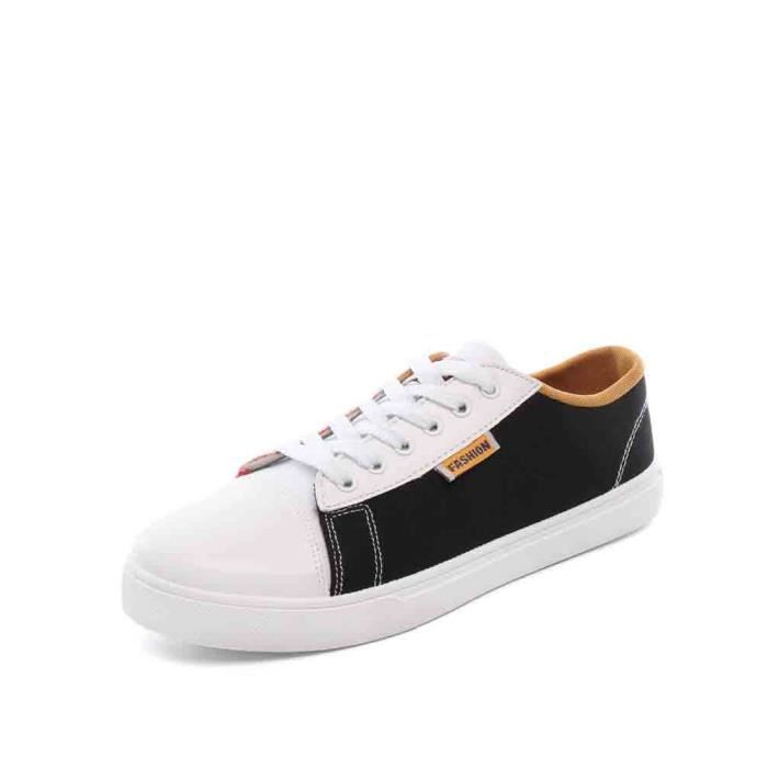 Sneakers Casual lacer Couleur respirante bloc confortables pour hommes 5641156 lyGpAzy