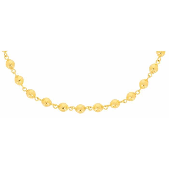 Collier Maille BouleDroiten Or 18 Carats