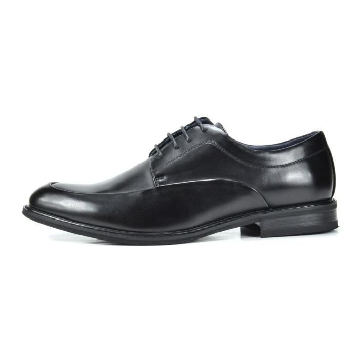 Bruno Marc Prime-1 Robe en cuir doublé Oxfords Chaussures L2OYV Taille-42