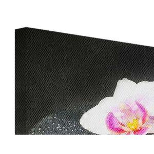 tableaux peinture sur toile orchidee achat vente pas cher. Black Bedroom Furniture Sets. Home Design Ideas