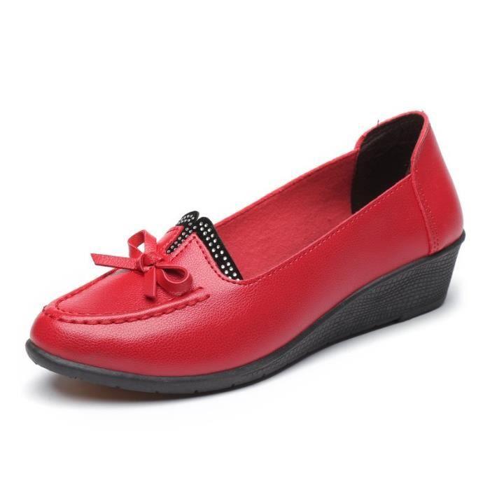 forme de Printemps Slip nouvelles Maman Plate Femmes chaussures Femme 2017 Mocassins On Femmes base confortable Flats wq14xU4g