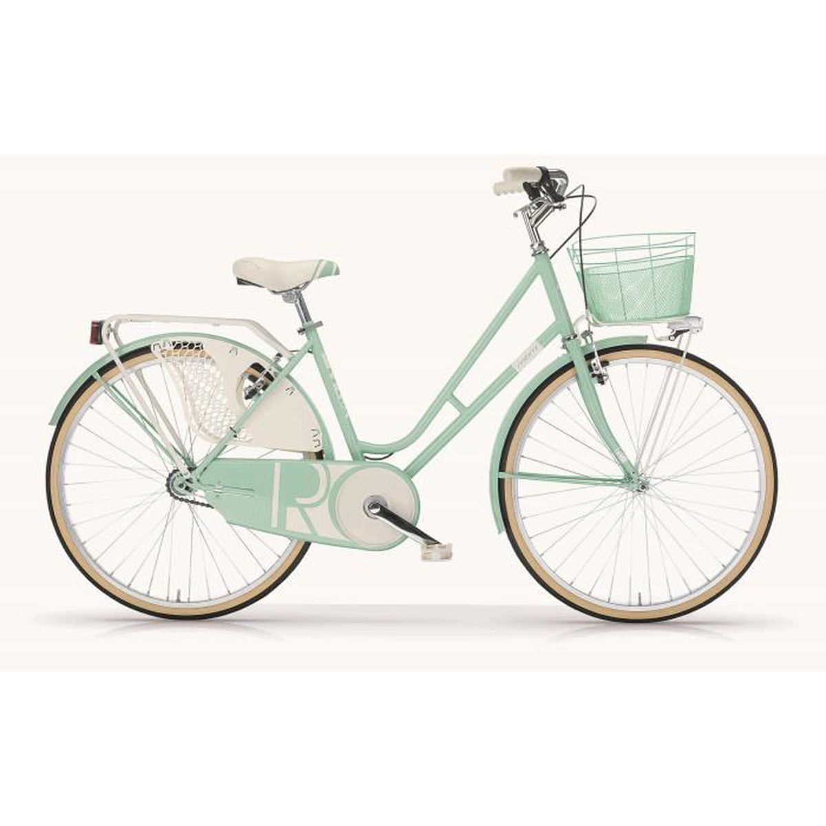 oldstyle v lo pour femme mbm riviera 26 pouces avec ch ssis en acier vert mint prix pas cher. Black Bedroom Furniture Sets. Home Design Ideas