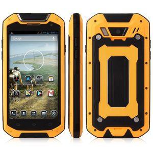 Téléphone portable 4,5 pouces Jaguar V12 robuste étanche IP68 Smartph
