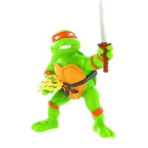 FIGURINE - PERSONNAGE Les Tortues Ninja - Mini figurine Michelangelo …