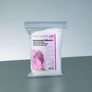 OUATE Ouate de rembourrage blanche en synthétique, 50 g,
