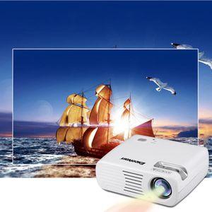 Vidéoprojecteur Excelvan 2600 Lumens Home Cinéma Projecteur 2000:1