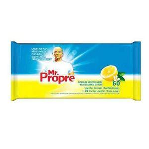LINGETTE NETTOYANTE MR PROPRE Lingettes citron x60
