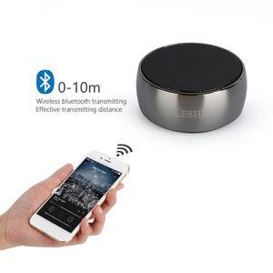 ENCEINTE NOMADE Enceinte Bluetooth haut-parleur en métal super bas