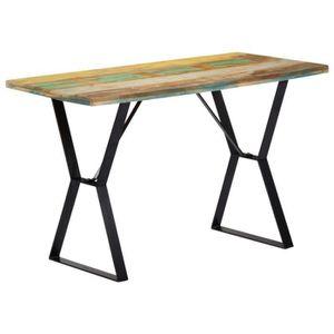 TABLE À MANGER SEULE vidaXL Table de salle à manger 120x60x76cm Bois de