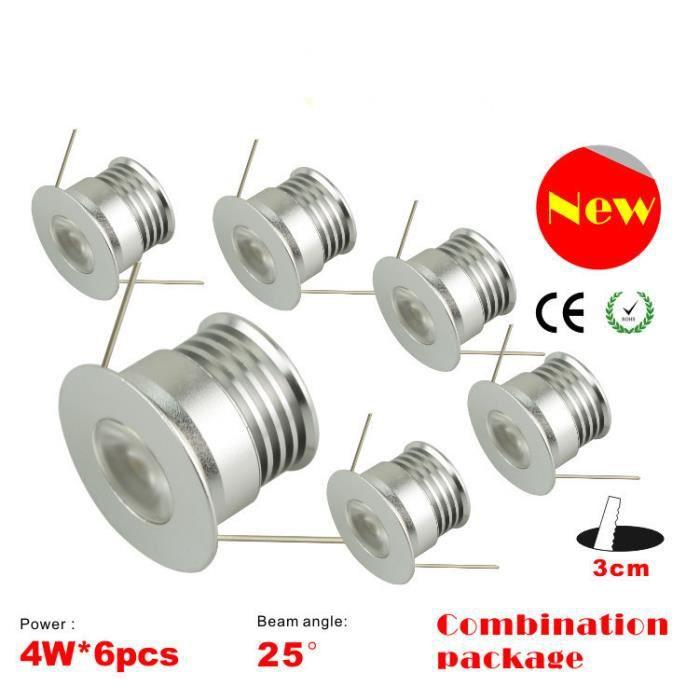 Mini 30mm Réfectoire Mode Downlight Décoration Led Pour 4w Nouvelle Lumières Romantique Lampe L'atmosphère Éclairage Ponctuel OXPZuwkiTl