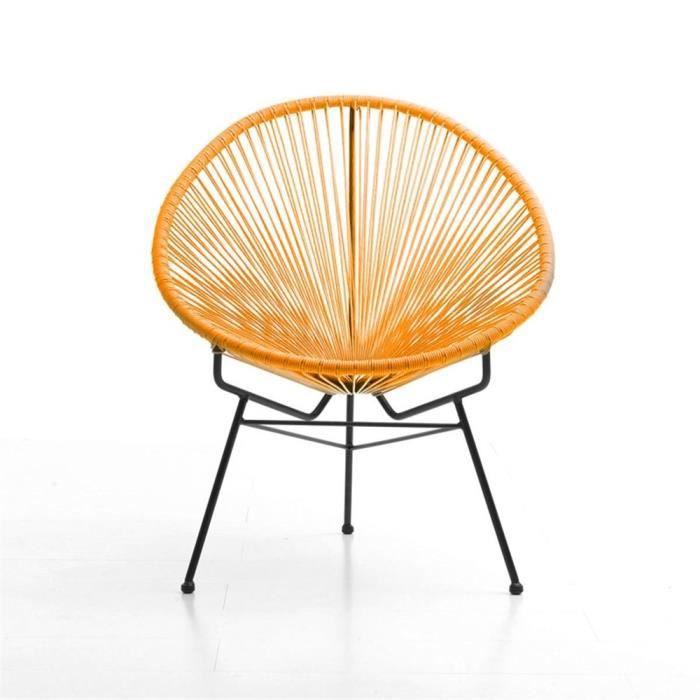 Acapulco Orange - Fauteuil design - Achat / Vente fauteuil jardin ...
