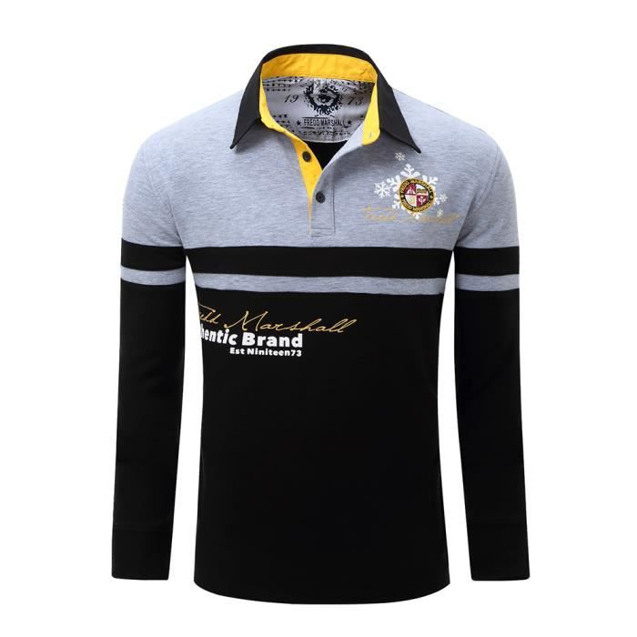Polo Manches longues homme - Achat   Vente Polo Manches longues ... 8bdc89b9f698