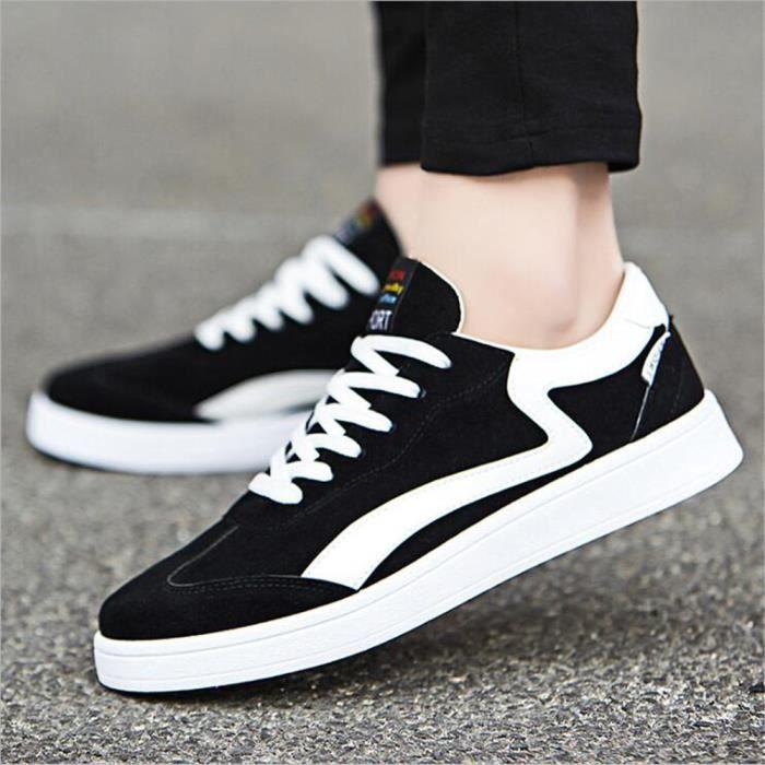Sneaker Hommes Meilleure Qualité 2017 nouvelle marque de luxe chaussure Durable Confortable mesh style Chaussures de sport blanc aMgpIZ02L