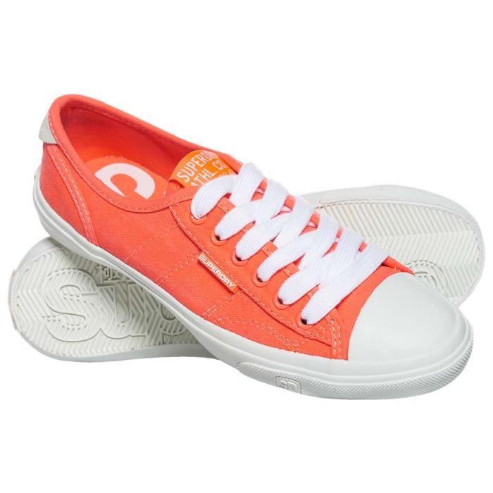68fc2649682b Chaussures femme Chaussures de tennis Superdry Low Pro - Prix pas ...