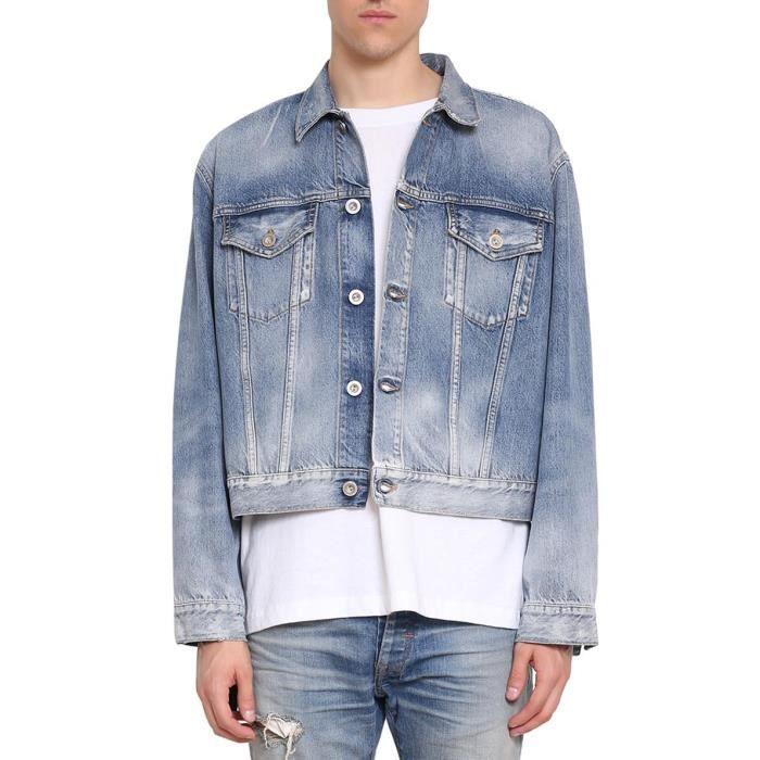 Homme Umye002s180840147188 Coton Veste Unravel Bleu Project orsQCBhdxt