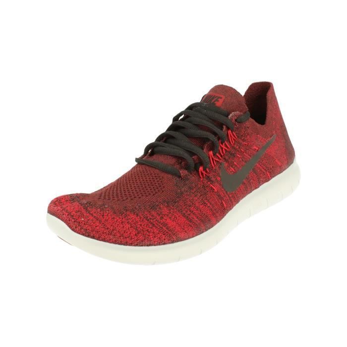 competitive price 7ff13 48862 Nike Free RN Flyknit 2017 Hommes Running Trainers 880843 Sneakers Chaussures  606