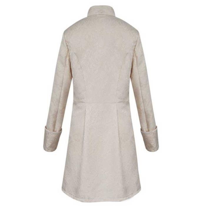 Hommes Vintage Chaud D'hiver Pardessus Veste Outwear Les Frac wXNO8Pn0k