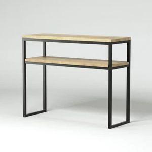 console style industriel achat vente pas cher. Black Bedroom Furniture Sets. Home Design Ideas
