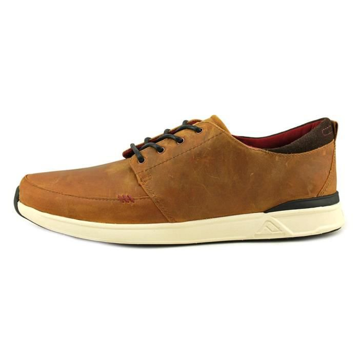 Reef Rover Low FGL Hommes Cuir Chaussure de Basket