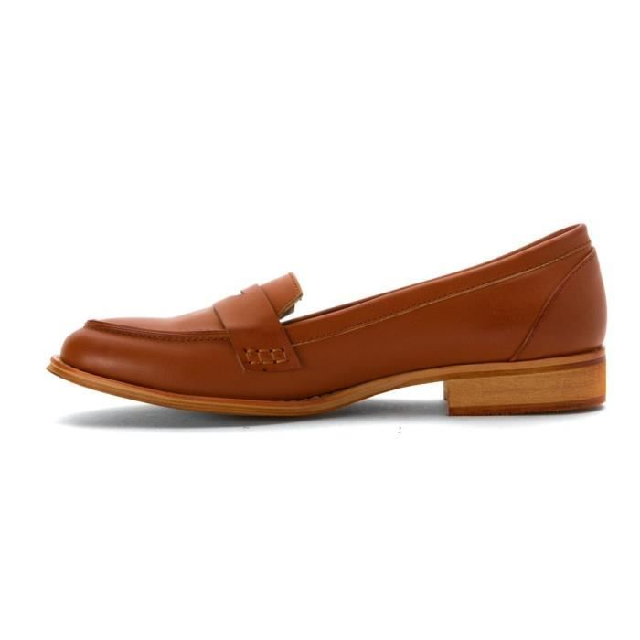 Cuir Mocassins En Wanted Campus 3pmgrf 41 Bout Taille Rond AvAXtq