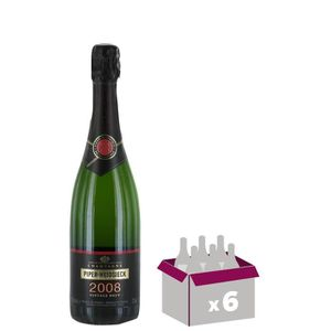 CHAMPAGNE Champagne Piper-Heidsieck Vintage 2008 - 6x75