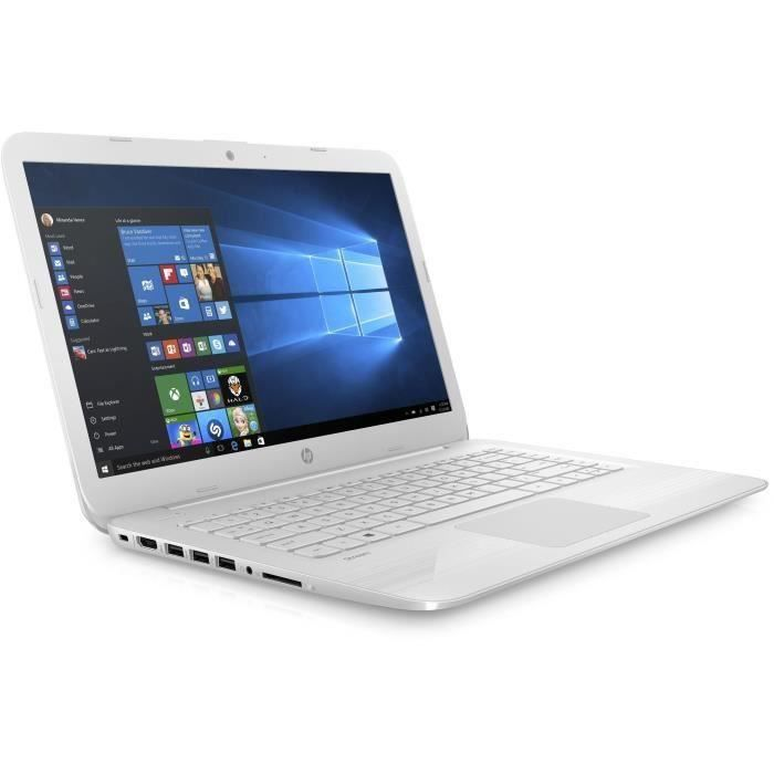 """ORDINATEUR PORTABLE HP PC Portable Stream 14-cb036nf - 14"""" HD - Celero"""