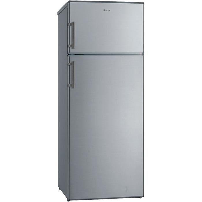 df2676b7a4e7ec RÉFRIGÉRATEUR CLASSIQUE HAIER HTM-546S - Réfrigérateur double porte-210 L