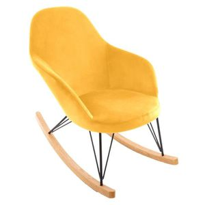 FAUTEUIL Atmosphera - Rocking chair fauteuil à bascule velo