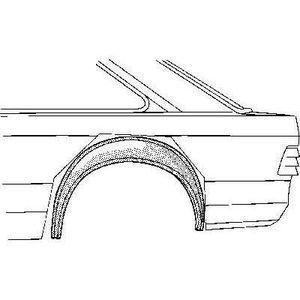 KIT CARROSSERIE Arc d'aile arrière droite intérieur 2 + 4 portes p