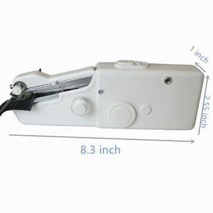 mini machine coudre portative tenue dans la main. Black Bedroom Furniture Sets. Home Design Ideas