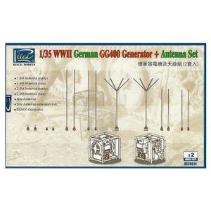 RÉGLAGE ANTENNE Accessoires antennes et generateurs Allemand : WWI