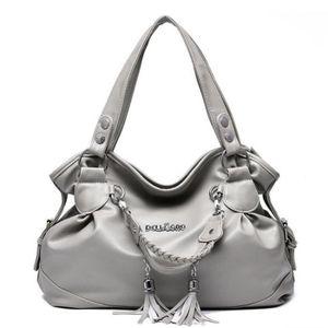 f49a98318fdb SAC À MAIN sac femme de marque gris meilleure qualité Sac Fem