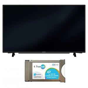 Téléviseur LED PACK GRUNDIG Téléviseur TV 32 POUCES 200HZ CONNECT