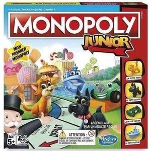 JEU SOCIÉTÉ - PLATEAU MONOPOLY - Junior, le jeu pour enfants